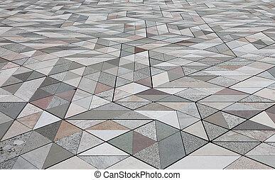 marble floor of an ancient church