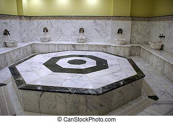 Marble hamam - Marble turkish bath hamam inside...