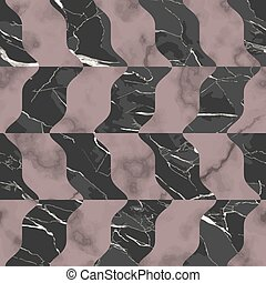 Marble luxury seamless pattern with mosaic effect