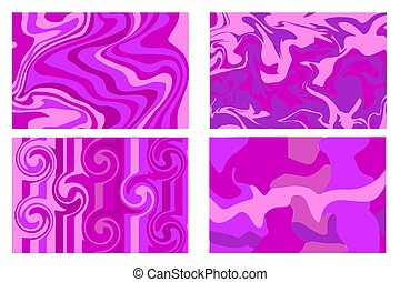 Marble texture purple. Paint splash. Colorful fluid. It can be used for poster, card, brochure, background, invitation, cover book, catalog. Vector.