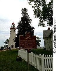 Marblehead Lake Erie Sign