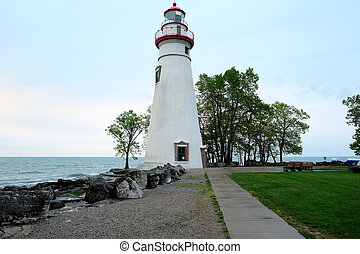 Marblehead Lighthouse, built in 1820