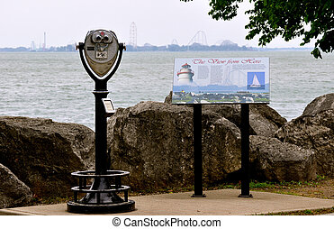 Marblehead Lighthouse View Finder