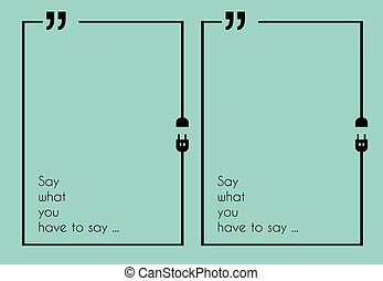marca citação, quadro, com, apartamento, estilo, e, espaço, para, text.