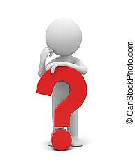 marca pergunta