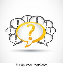 marca pergunta, e, exclamação, marcas