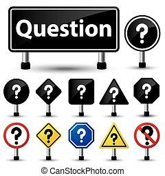 marca pergunta, símbolo, sinal