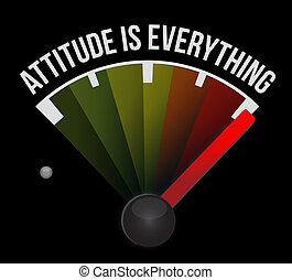 marcador, tudo, atitude, conceito, sinal