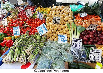 marché, agriculteurs