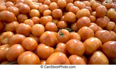 marché, beaucoup, parfait, tomates, tomatoes., légume