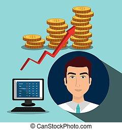 marché financier, stockage