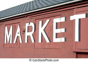 marché, signe
