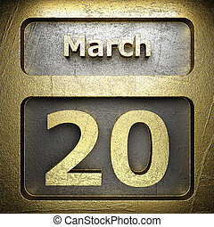march 20 golden sign
