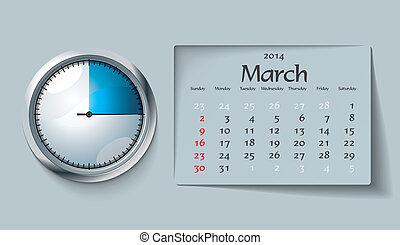 march 2014 - calendar