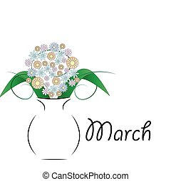 March 8 - Women's Day .