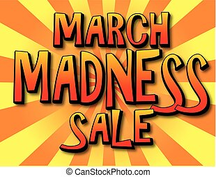 March Madness Sale Poster