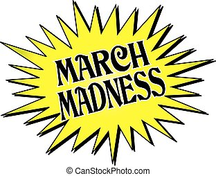 March Madness Starburst - March Madness
