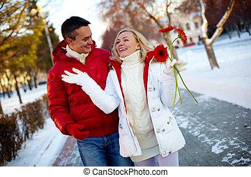 marche, couple