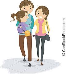 marche, famille