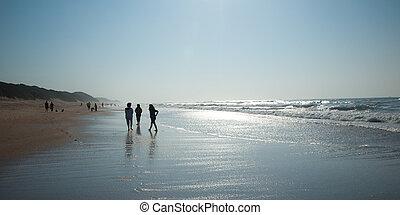 marche, plage