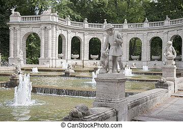 Marchenbrunnen Fairy Tale Fountain, Berlin