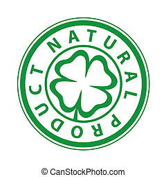 marchio, prodotto, stampa, naturale