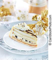 marchpane, 蛋糕, 為, 聖誕節