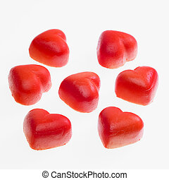 marchpane hearts