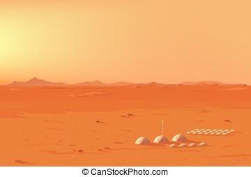 marciano, colonia, paisaje