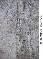 marco completo, de, un, viejo, pared