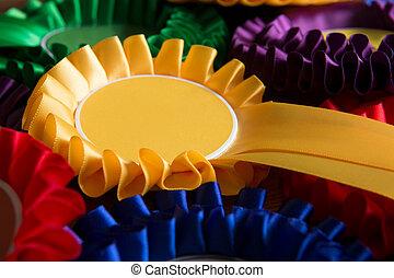 marco completo, tiro, de, colorido, político, escarapelas