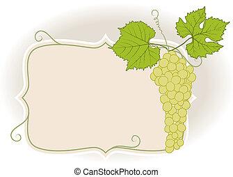 marco, con, uvas