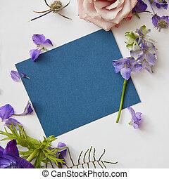 marco, de, flores del resorte
