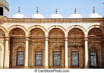 marco, de, um, sírio, mesquita