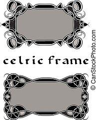 marco, en, estilo céltico