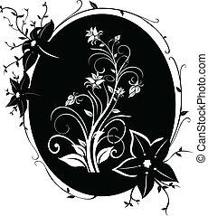 marco, flores