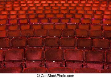 marco, lleno, asientos