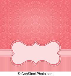 marco, papel, diseño, plano de fondo, elemento