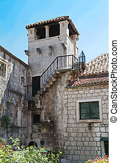 Marco Polo tower - Korcula ,  Croatia