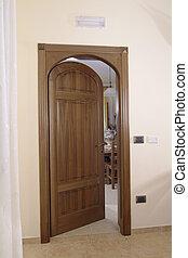 marco, puerta