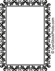 marco, rectangular