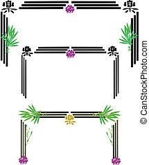 marcos, blanco, chino