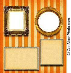marcos, imagen, selección, tamaño, xxl