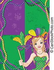 Mardi Gras Banner