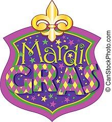 Mardi Gras blazon