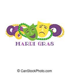 Mardi gras celebration freehand cartoon fancy mask feather mardi gras celebration m4hsunfo Images