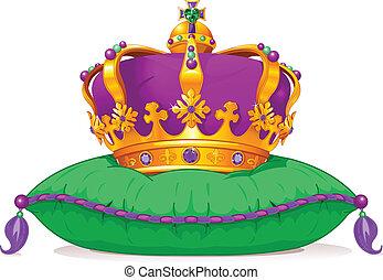 mardi gras, krona