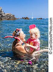 mare, mediterraneo, snorkeling, francia