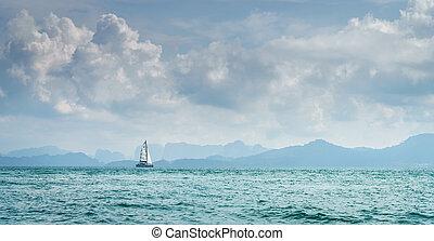 mare, navigazione, andaman