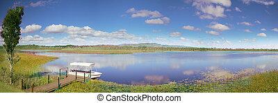 mareeba, wetlands, panorama